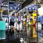 Flooding at Tha Chan Pier
