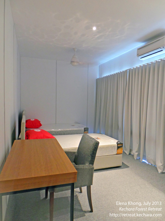 A second style of room in Dukkar Apartments for our VIP guests