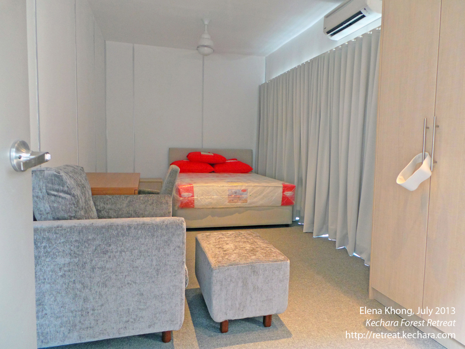 One style of room in Dukkar Apartments for our VIP guests