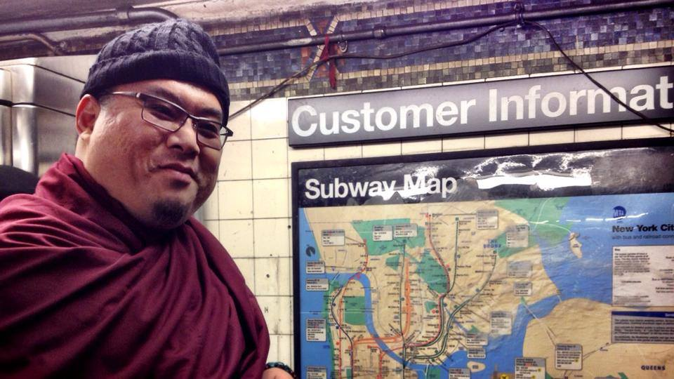 Yes, Rinpoche really is in New York City, we haven't been making it up!