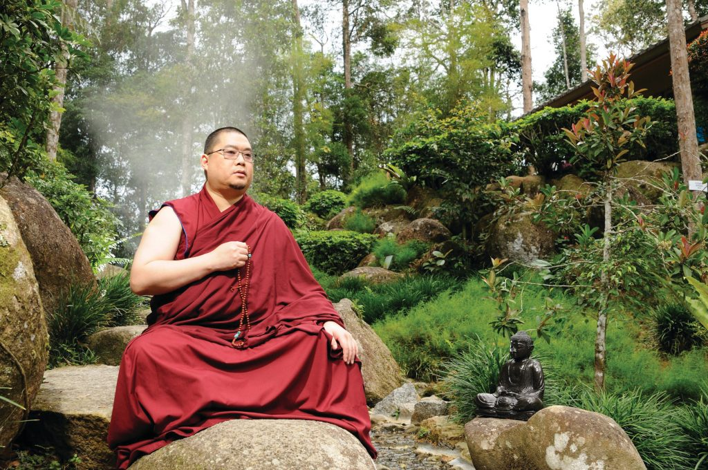 Driven by previous lives' imprints, Rinpoche always wanted to be a monk in the forest but it was not to be. Because of the ban on Dorje Shugden, Rinpoche was compelled to take on a more public role.