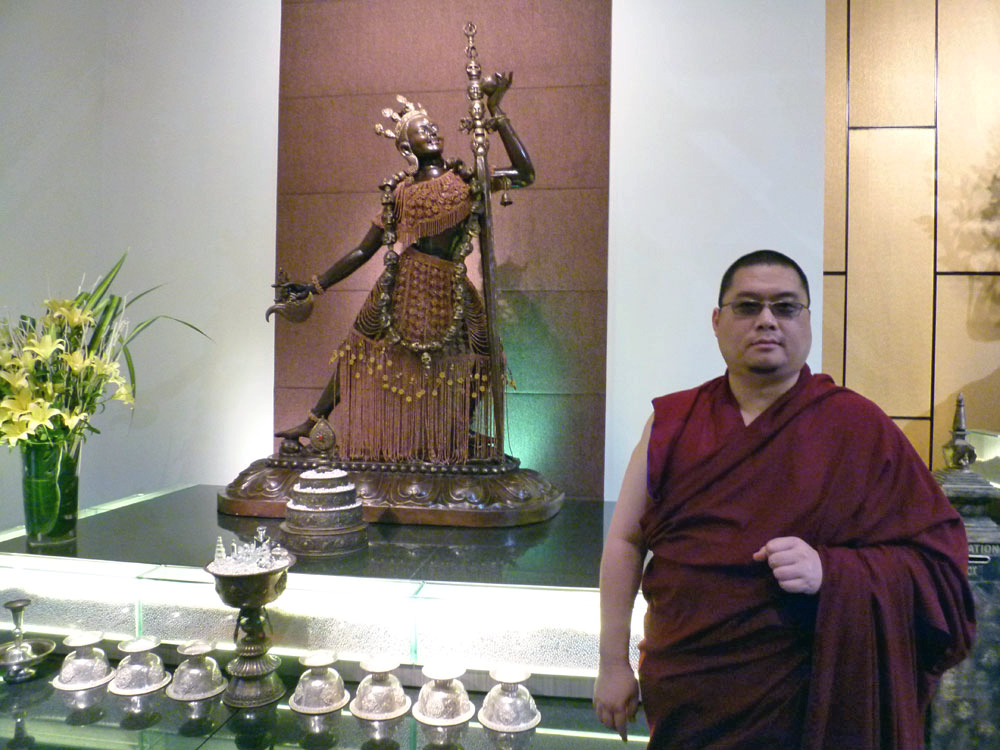 Aside from reasons of guru devotion, Rinpoche said he maintained his commitments and his practice of Vajra Yogini to pass onto others