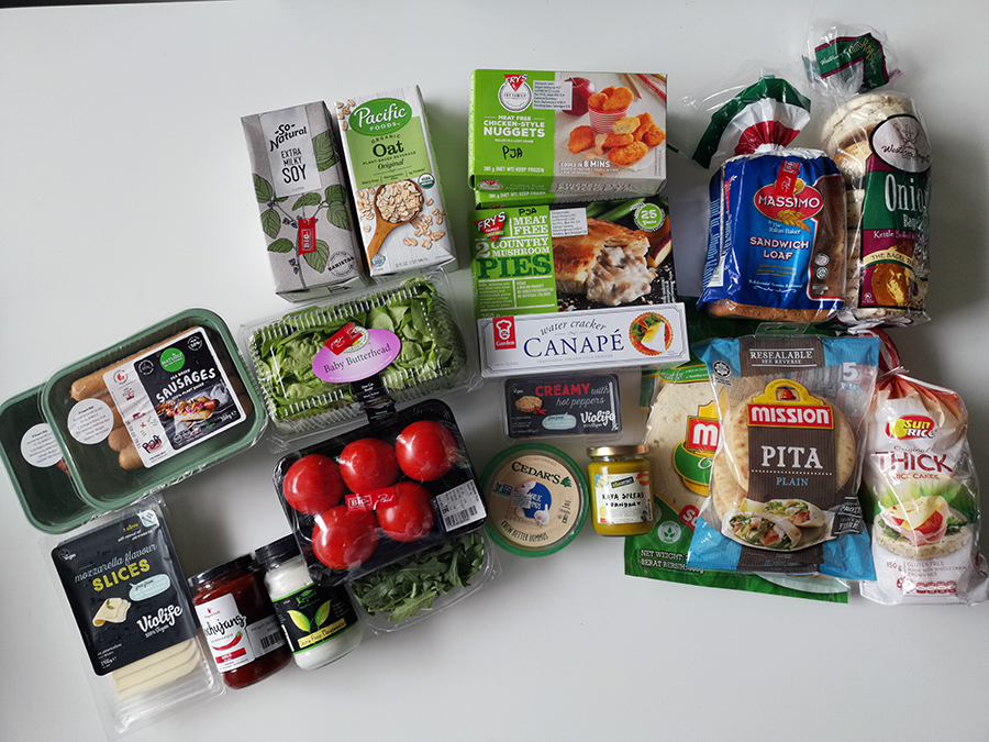 My first vegan haul :) (mostly from Vegan District)