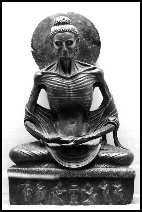 One of Rinpoche's favourite depictions of Shakyamuni, known as the Fasting Buddha. Click on the image to learn more about the deep meaning behind this depiction.