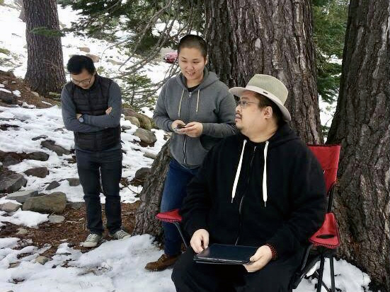 Somewhere on Mt Shasta with Rinpoche. Rinpoche had asked for an update about something I was working on, and asked me where I thought it was going or what kind of result it might lead to.