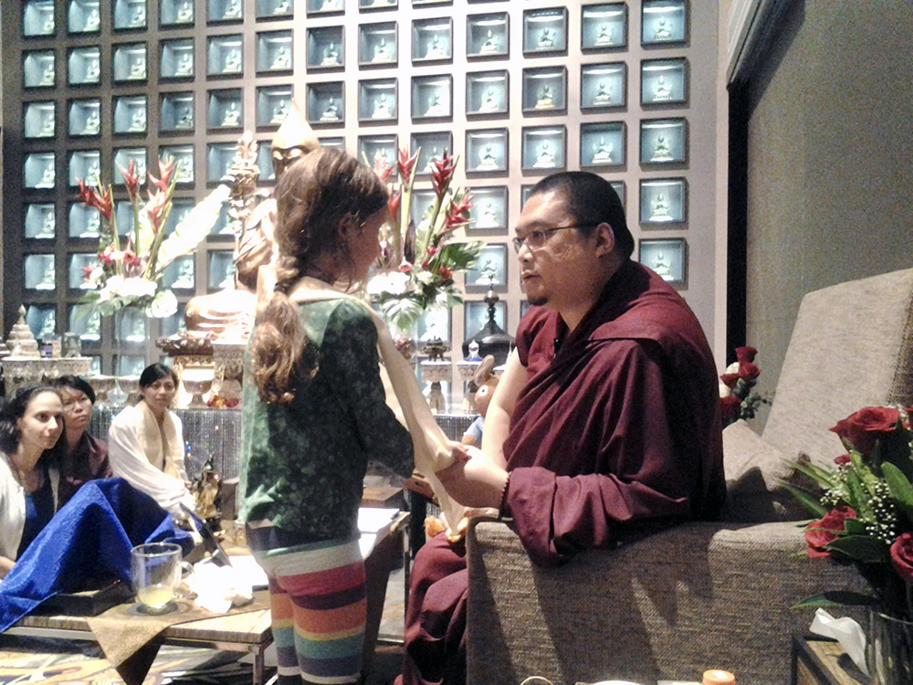 It was especially important to Rinpoche that we set a good example for children.